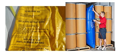 jual dunnage air bag Woven polypropylene bags