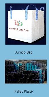 Jumbo Bag dan pallet plastik