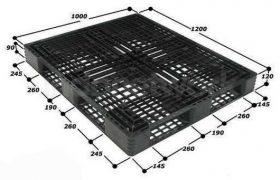 Jual Pallet Plastik Baru dan Bekas Ukuran 1200 mm x 1000 mm x 120 mm