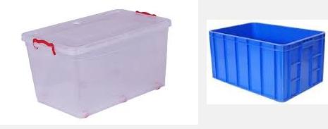 jual box plastik baru dan bekas
