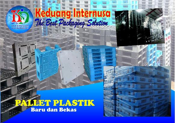 pallet plastik baru dan bekas