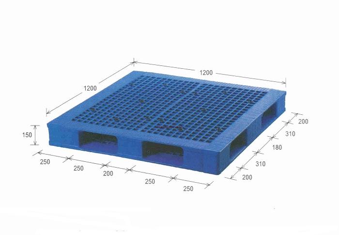 Jual Pallet Plastik Baru Dan Bekas 1200mm X 1200mm X 150mm